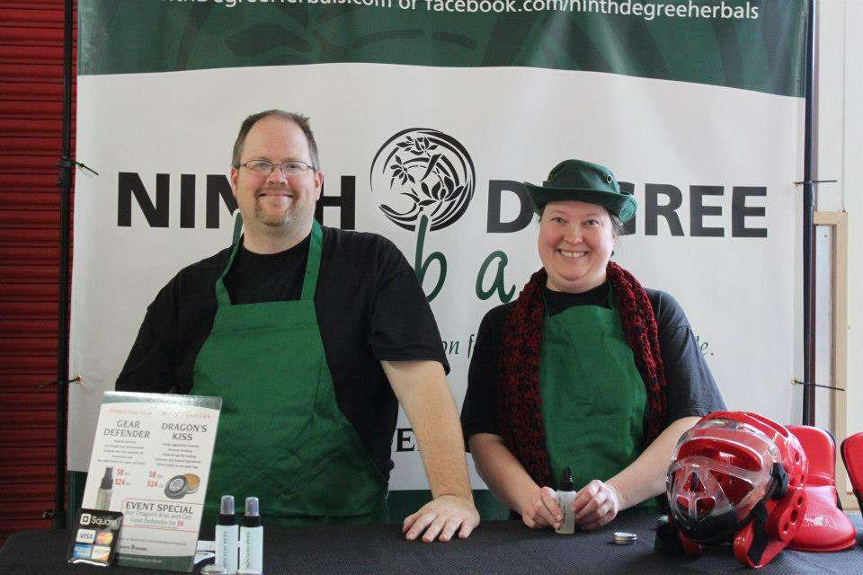 Patrick and Candace at Duer's ATA Tournament Jan 2013. Thanks to Julie Hynes for the shot.